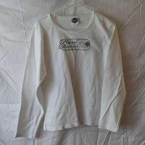 Harley-Davidson women's white shirt